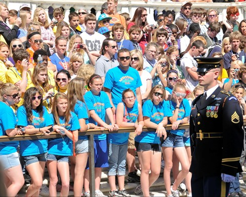 Tomb of the Unknown Soldier--I could do that!
