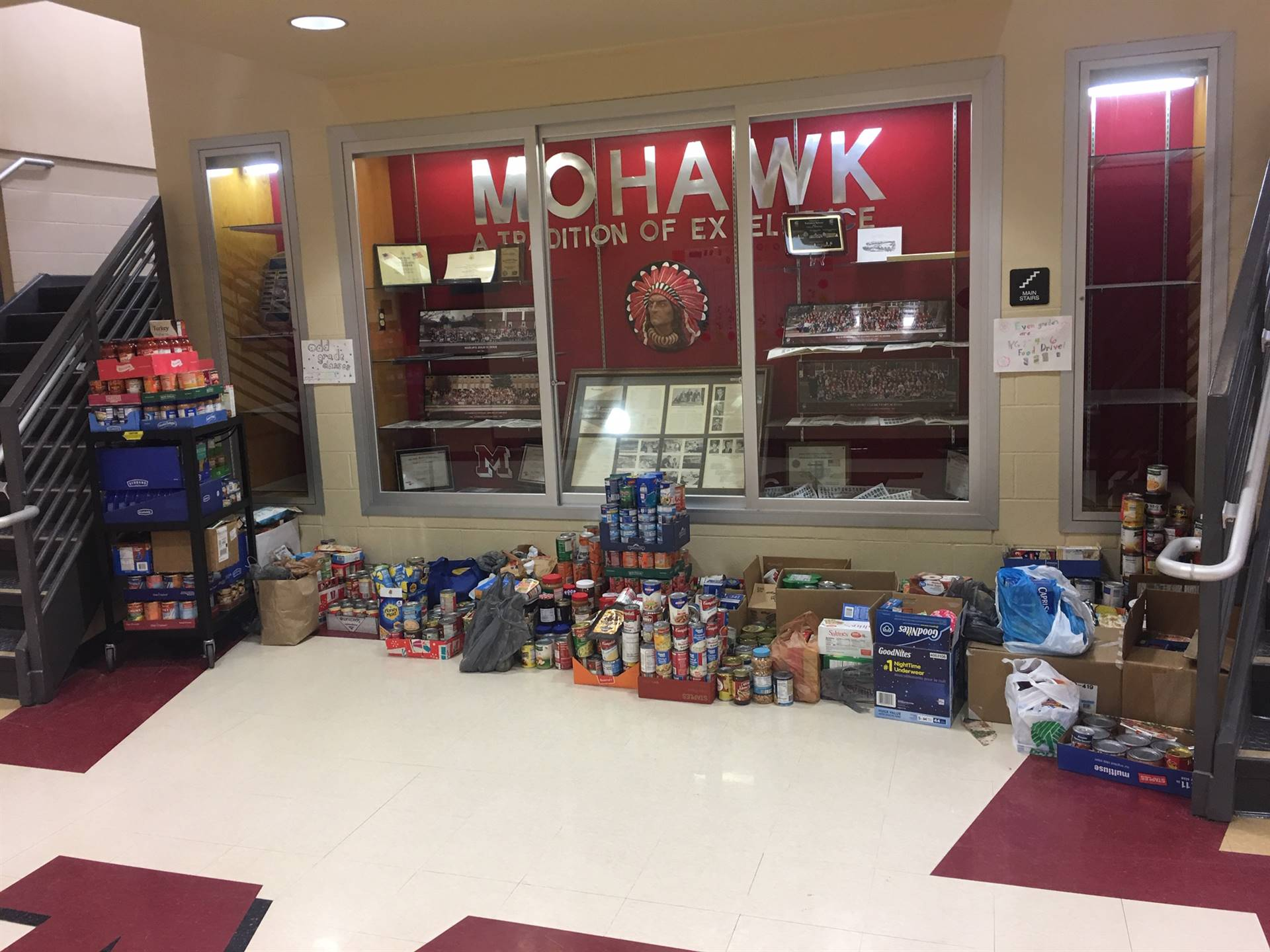 Food Drive for the Sycamore Community Food Pantry